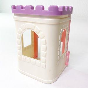 Vintage Fisher Price 1995 Castle Spire 4719 Toy